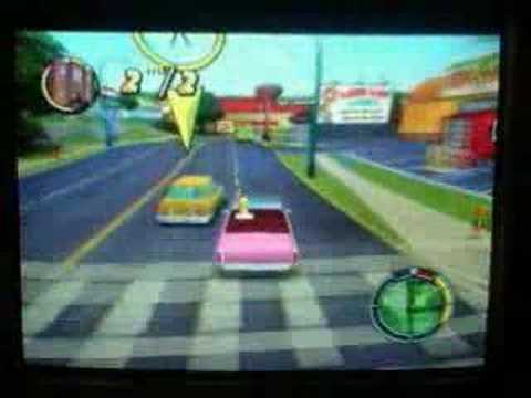 Los simpsons hit and run nivel 1 mision 1
