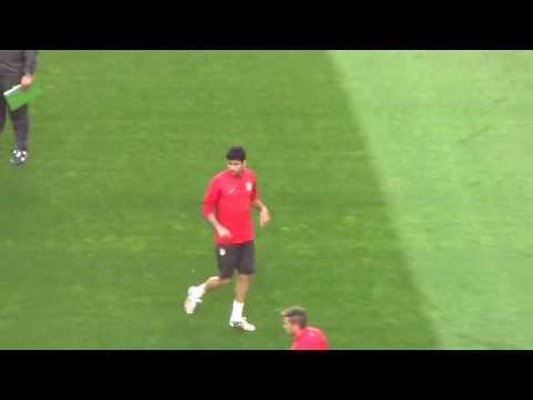 Así se entrenó Diego Costa el día antes de la final | Diario Bernabéu