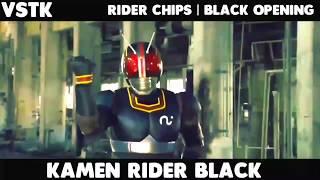 Kamen Rider Black - Rider Chips Black Op |HD| 720p