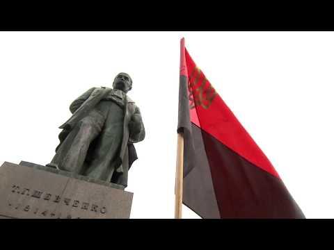 Марш слави УПА: численна колона націоналістів пройшла центром Києва