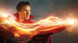 First Look At Benedict Cumberbatch As Dr Strange