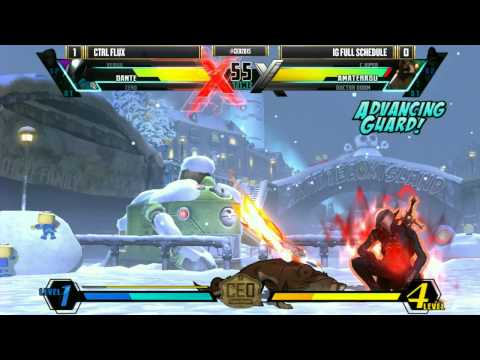 CEO 2015 - UMVC3 - Top 8 - CTRL Flux vs IG Full Schedule