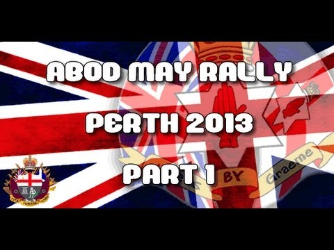 Apprentice Boys of Derry - May Rally - Perth 2013 - Part 1