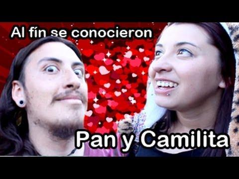 Pan conoce a Camilita el gnomo