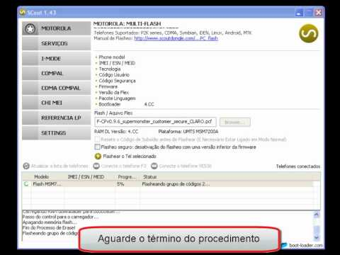 Procedimento de flash Motorola via Scout.wmv