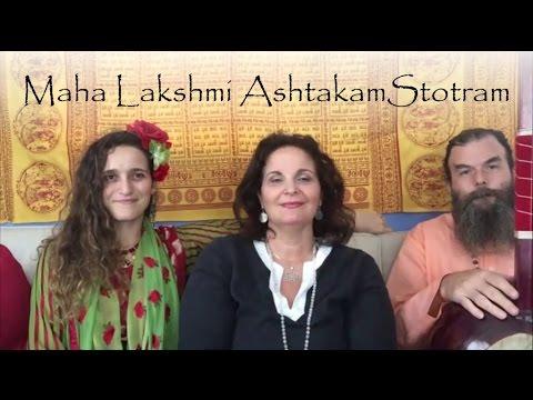 Maha Lakshmi Ashtakam Stotram