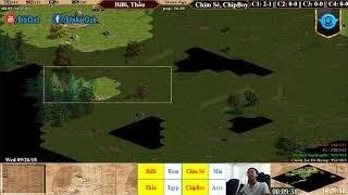 C1T4 - AoE 22 Random BiBi, Thầu vs Chim Sẻ, Chip Boy Ngày 26-9-2018