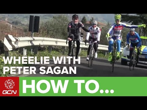 How To Wheelie With Peter Sagan