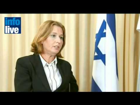 In Jordan, Livni urges Abbas to resume peace talks