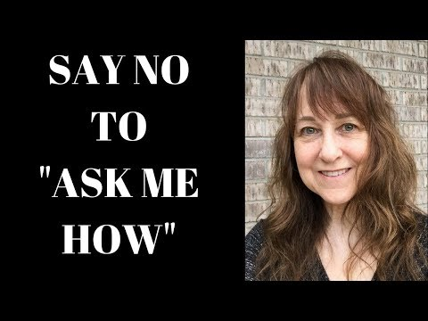 An Alternative To Ask Me How When Prospecting