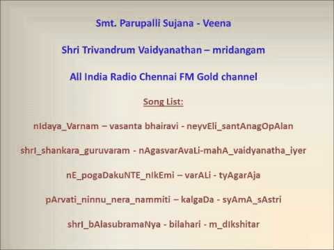 Veena - All India Radio Concert   15 2 2014