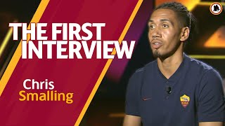 WELCOME CHRIS! | Smalling's first interview