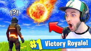 Getting *HIT* by the METEOR - WHAT HAPPENS? - Fortnite: Battle Royale!