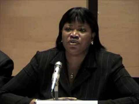 2nd IHLD: Fatou Bensouda on ICC Update 2008 PART 2