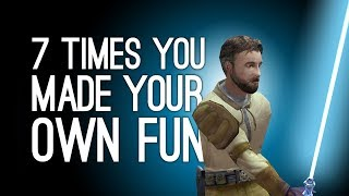 7 Times You Made Your Own Fun in Games
