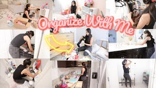 ALL DAY ORGANIZE & CLEAN WITH ME MOTIVATION! *VERY SATISFYING*