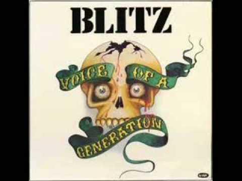 Blitz - Razors In The Night
