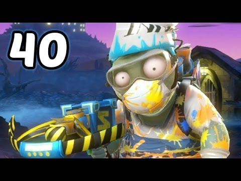 Let's Play Plants Vs Zombies Garden Warfare #40 Deutsch - Maler