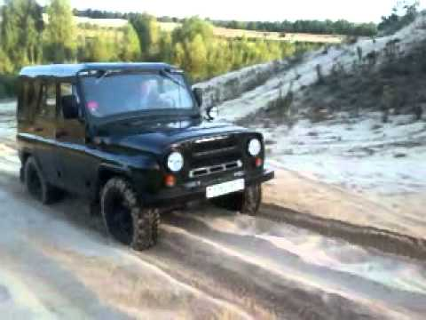 УАЗ 3151-01 Калинковичи, бездорожье