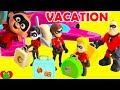 Family Vacation Disney Pixar Incredibles 2 Forgetting Jack Jack