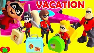Incredibles 2 Forgetting Jack Jack On Family Vacation