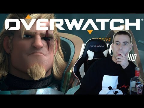 "Overwatch Animated Short | ""Honor and Glory"" Reaction (Reinhardt Animated Short Reaction)"