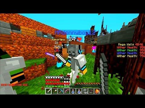 Minecraft Walls #15 'MEGA WALLS!' With Vikkstar, BajanCanadian, JeromeASF & AshleyMariee