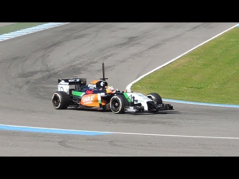 F1 2014 Sahara Force India VJM07 Sergio perez (Checo)