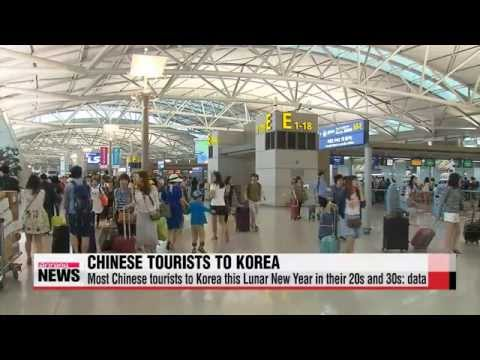 EARLY EDITION 18:00 Young Chinese tourists flocking to Korea over Lunar New Year