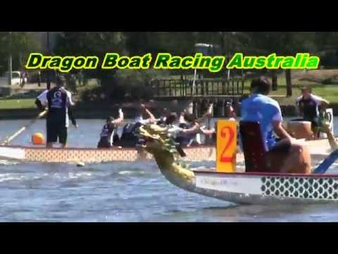 Dragon Boat Racing Australia Part 1 2014 Nationals