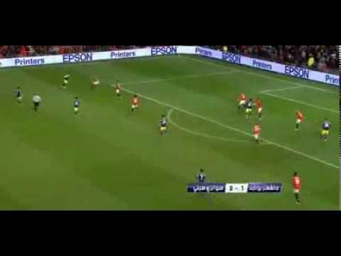 GOL DE JAVIER 'CHICHARITO' HERNÁNDEZ - FA Cup - Manchester United 1-2 Swansea City [5-Enero-14]