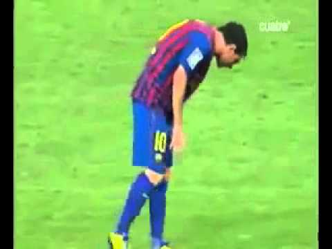 Lionel Messi vomits during Super Cup then scores against Real Madrid   Metro co uk2