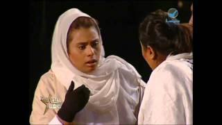 نجمة_العرب فرجانية وهبة رحال في مشهد من فيلم أسماء