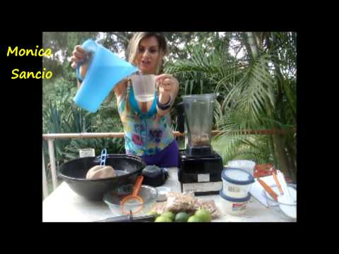 Easy raw vegan cream cheese practical nutrition be your own chef Monica Sancio fit