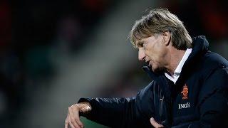 Adrie Koster neemt afscheid van Jong Oranje
