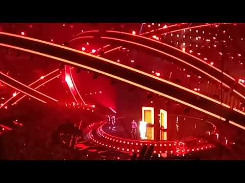 Eurovision 2018 Final jury rehearsal Israel Netta