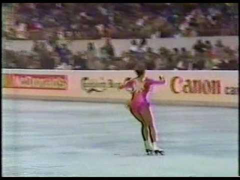 Katarina Witt (GDR) - 1985 World Figure Skating Championships, Ladies' Long Program