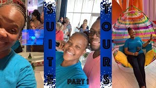 Vlogmas 2018 Day 4 We can't afford these Suites on Symphony of the Seas 🤷🏾♀️