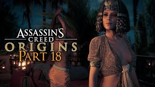 Assassin's Creed Origins Walkthrough Part 18 - Cleopatra (PC Let's Play Commentary)