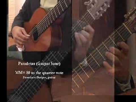 Burgos plays Paradetas by Gaspar Sanz