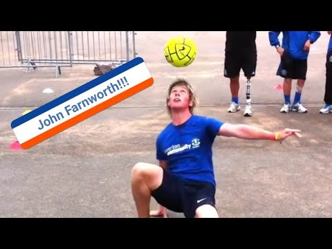 John Farnworth Soccer Freestyle, Amazing!!!! video