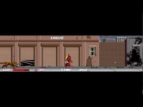 Ninja Warriors -- Arcade Longplay