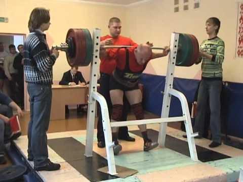 Master Belarus 2009 squat.avi