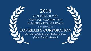 Golden Globe Annual Award For Business Excellence -  Best Trusted Real Estate Brokerage Firm