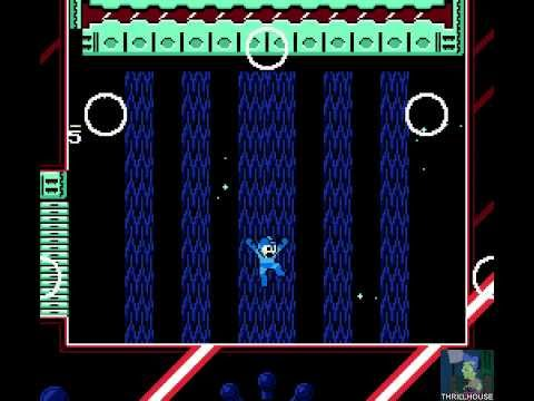 Mega Man Unlimited Instant Death Mode Part 1   Rainbow Man   Mega Buster Only