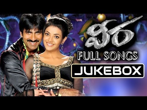 Veera Telugu Movie !! Full Songs Jukebox !! Ravi Teja, Kajal, Tapasee video