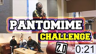 PANTOMIME CHALLENGE 2.0 !! 😱 mit JokaH Tululu   GLCEMBER ❄