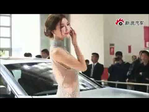 SEXY & PRETTY Super Chinese Model LI YING ZHI attracts more crowd @ 2012 BeijingMotorShow !