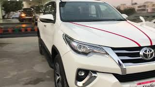 2018 TOYOTA FORTUNER SUV Used car FOR SALE 4&4 AUTOMATIC 2.8\Full Walkaround | Brand new | Ludhiana