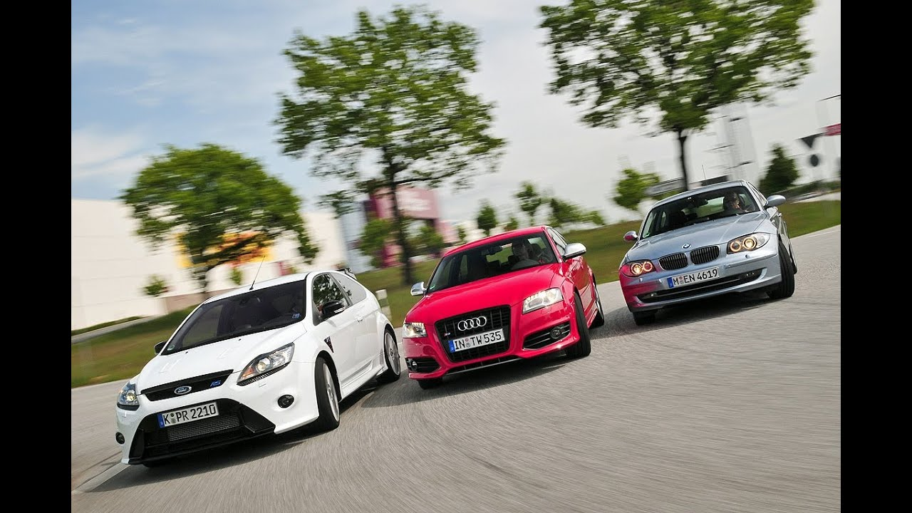 Audi S3 Ford Focus Rs Bmw 130i Youtube